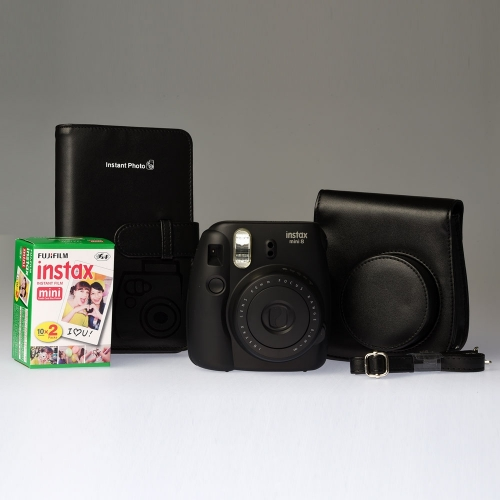 Fujifilm Instax Mini 8 Black - ENTHUSIAST KIT