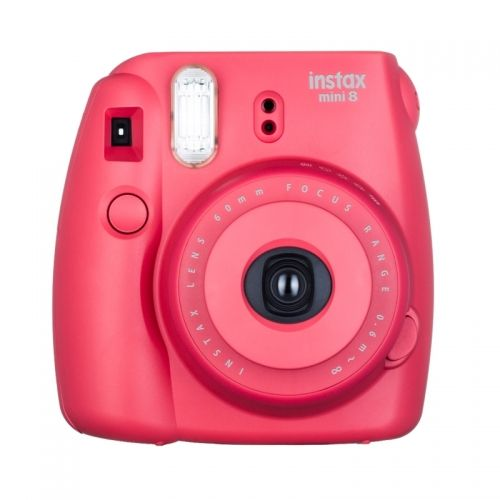 Fujifilm Instax Mini 8 Raspberry - ENTHUSIAST KIT