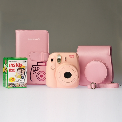 Fujifilm Instax Mini 8 Pink - ENTHUSIAST KIT