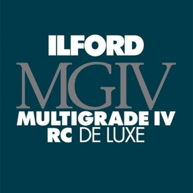 Ilford Photo 24x30,5 cm - BRILLANT - 50 FEUILLES - Multigrade IV RC Deluxe HAR1770526