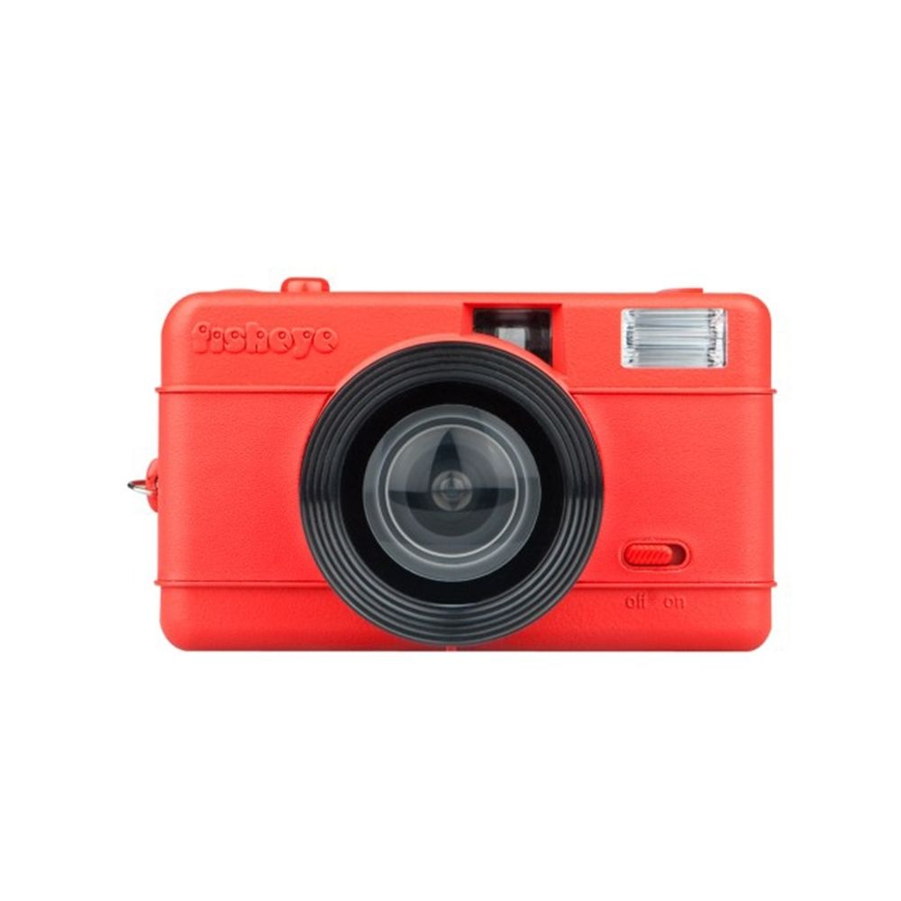 Lomo Fisheye One - Rood