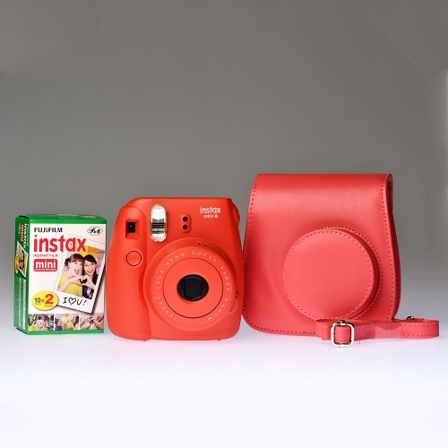Fujifilm Instax Mini 8 Raspberry - PREMIUM KIT