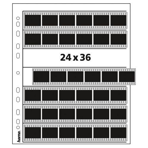 Hama pergamijn negatiefbladen 35mm 7x6 - 25 stuks