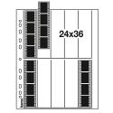 Hama Negatiefbladen 35mm Film 10x4 - Pergamijn - 25 stuks