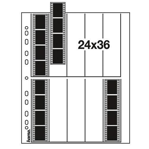 Hama pergamijn negatiefbladen 35mm 10x4 - 25 stuks