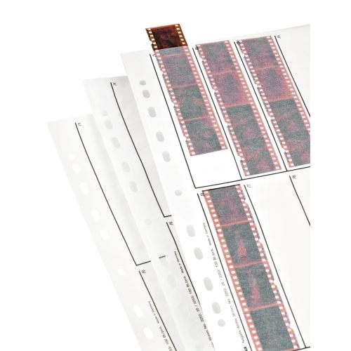 Hama Negative Storage Pages 35mm Film 10x4 - Glassine - 25 pcs
