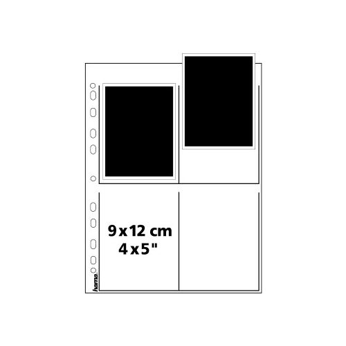 "Hama Negative Storage Pages 4x5"" Sheet Film - Glassine - 25 pcs"