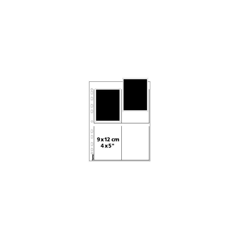 "Hama Negative Storage Pages 4x5"" Sheet Film - Glassine - 25 pcs"