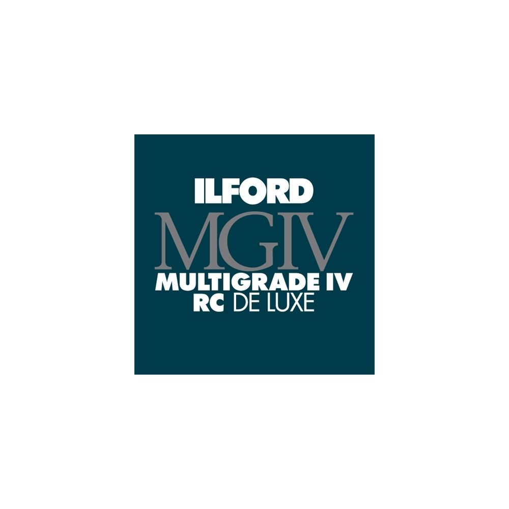 Ilford Photo 12,7x17,8 cm - BRILLANT - 25 FEUILLES - Multigrade IV RC Deluxe HAR1769881