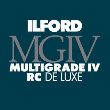 Ilford Photo 20,3x25,4 cm - GLOSSY - 25 SHEETS - Multigrade IV RC Deluxe HAR1770306