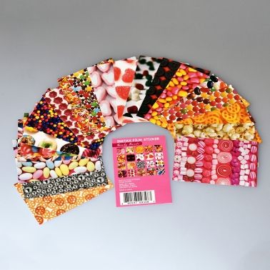 Instax Mini Film Stickers - Candy Sweets