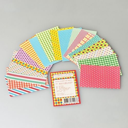 Instax Mini Film Stickers - Pastel Color