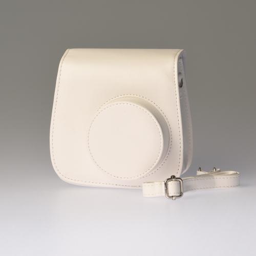 Leren draagtas Instax Mini 8 - Wit