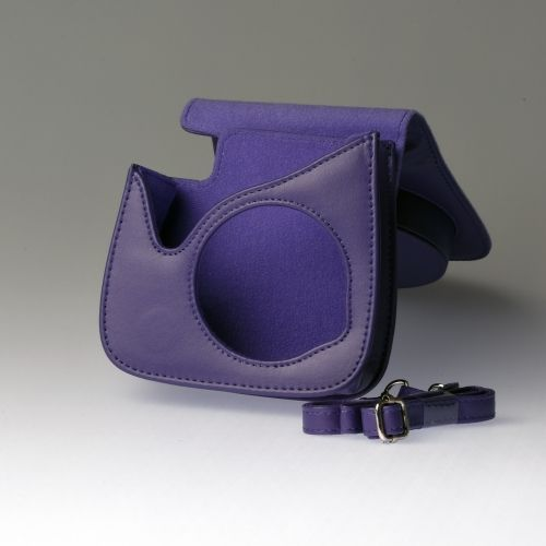 Leren draagtas Instax Mini 8 - Blauw