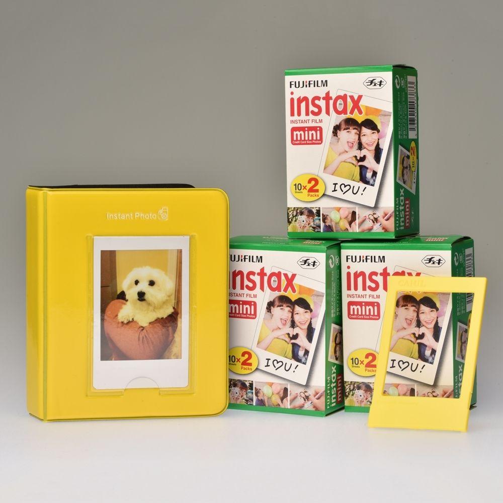 Classic Toebehoren Kit Instax Mini - Geel