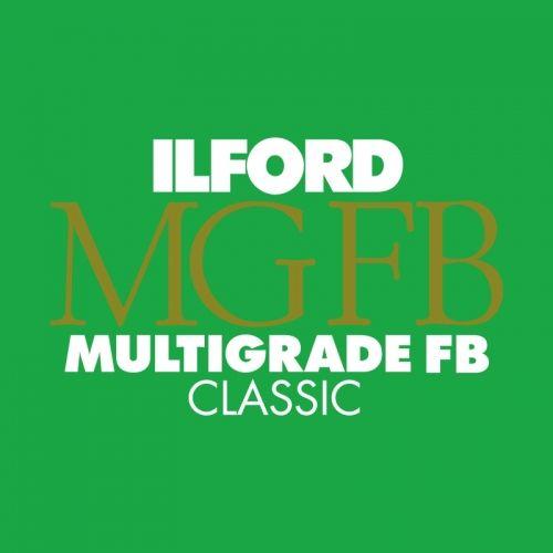 Ilford Photo 20,3x25,4 cm - BRILLANT - 25 FEUILLES - Multigrade Fiber Classic HAR1171961
