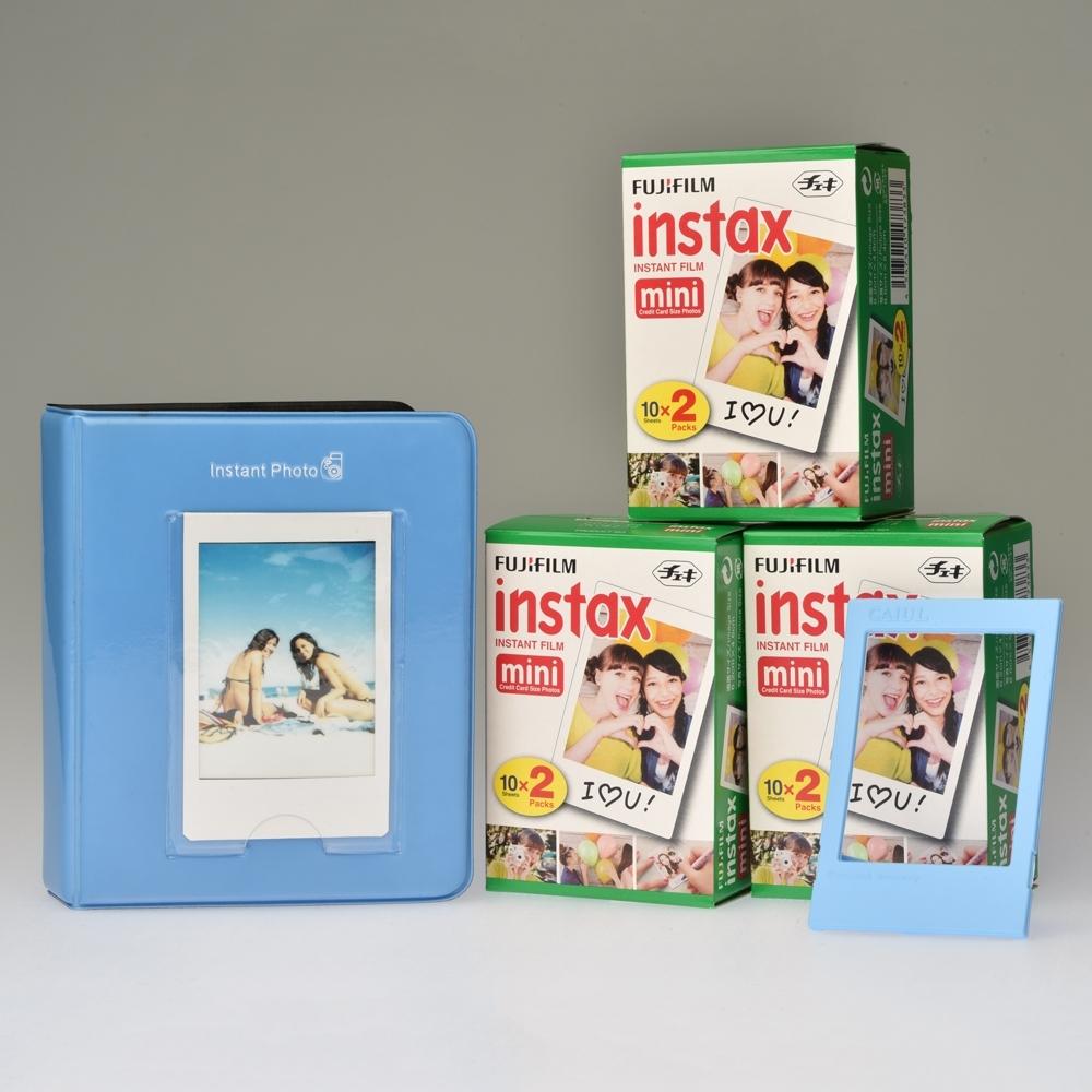 Classic Toebehoren Kit Instax Mini - Blauw