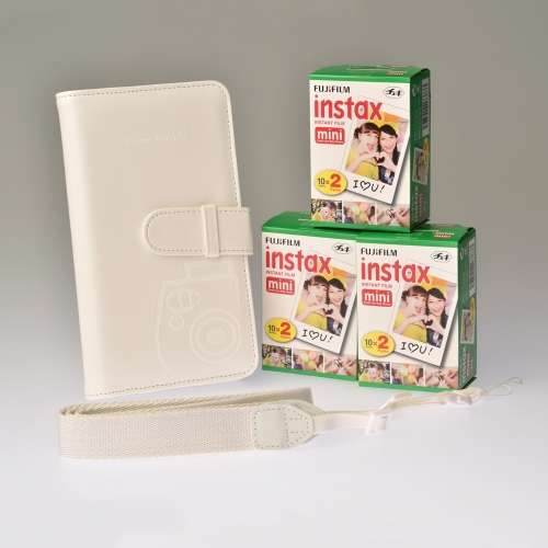 Premium Toebehoren Kit Instax Mini - Wit
