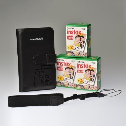 Premium Toebehoren Kit Instax Mini - Zwart