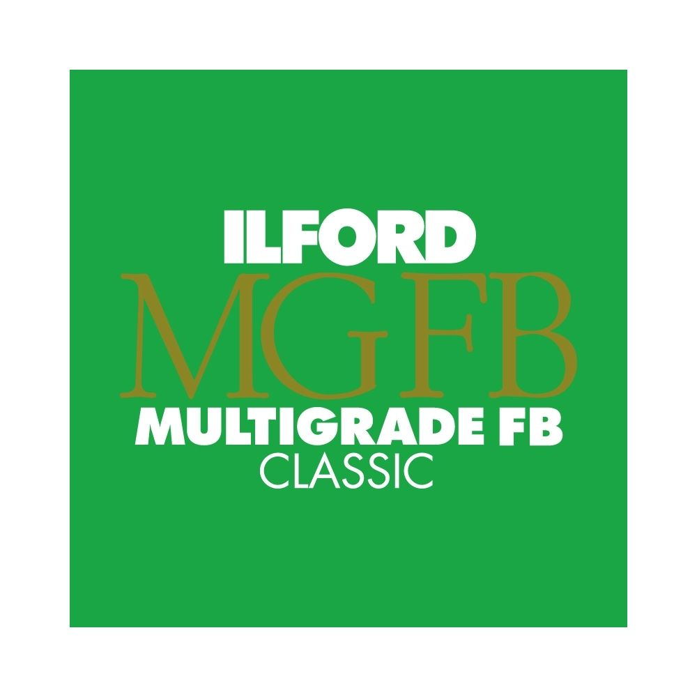 Ilford Photo 20,3x25,4 cm - BRILLANT - 100 FEUILLES - Multigrade Fiber Classic HAR1171983