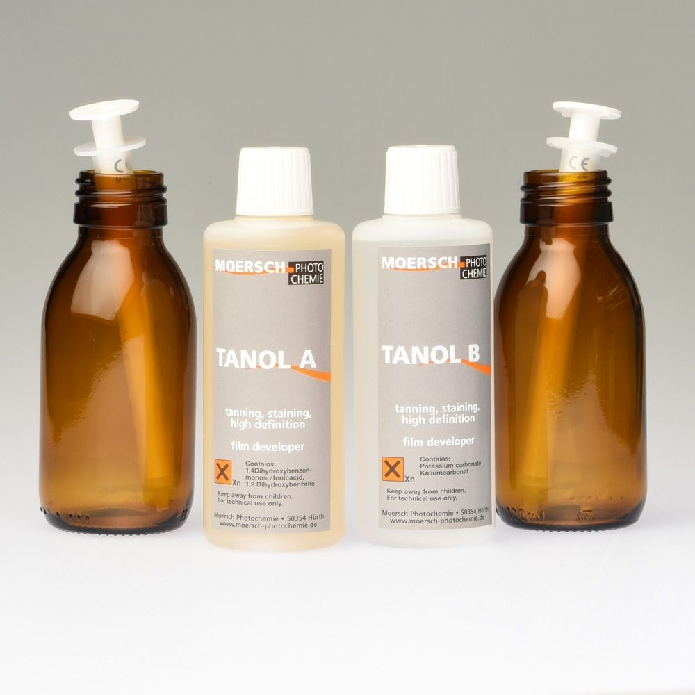 Moersch Tanol 200 - (2 x 100ml) + glass bottles