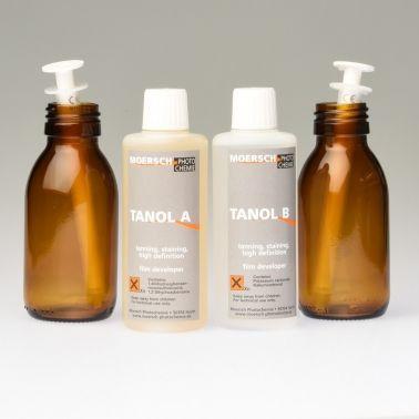 Moersch Tanol 200 Film Developer - (2x100ml) + Glass Bottles