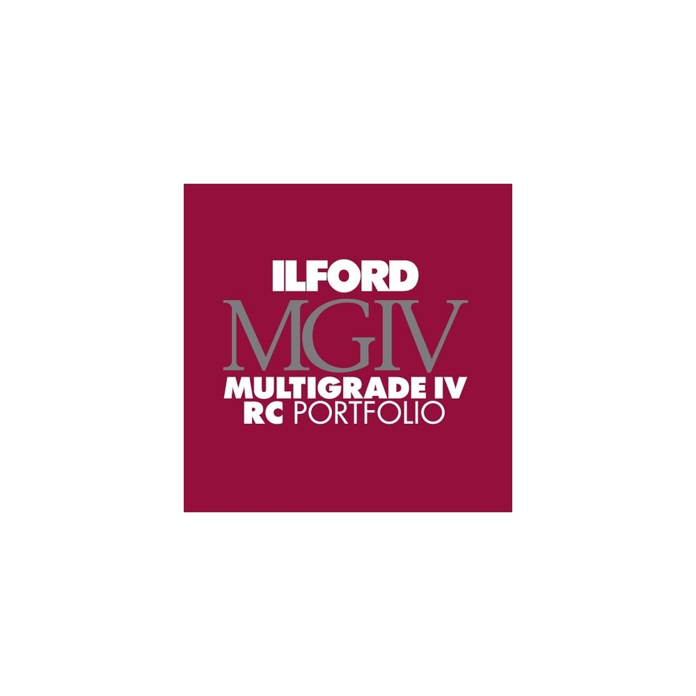 Ilford Photo 20,3x25,4 cm - GLOSSY - 100 SHEETS - Multigrade IV RC Portfolio HAR1171246