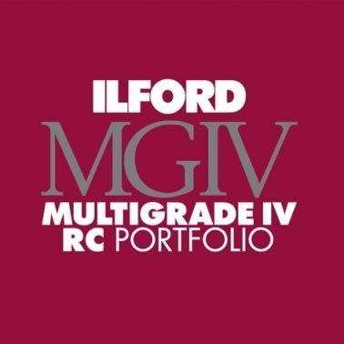 Ilford Photo 20,3x25,4 cm - GLANZEND - 100 VELLEN - Multigrade IV RC Portfolio HAR1171246