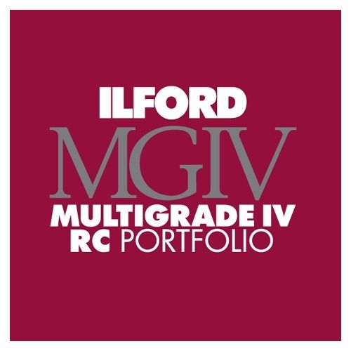 Ilford Photo 20,3x25,4 cm - PARELGLANS - 100 VELLEN - Multigrade IV RC Portfolio HAR1171334