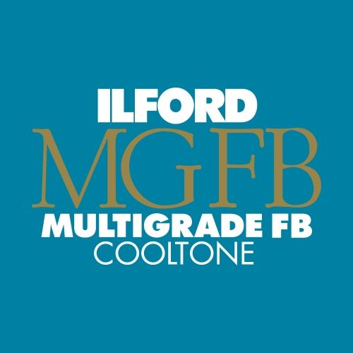 Ilford Photo 20,3x25,4 cm - BRILLANT - 25 FEUILLES - Multigrade Fiber Cooltone HAR1175020