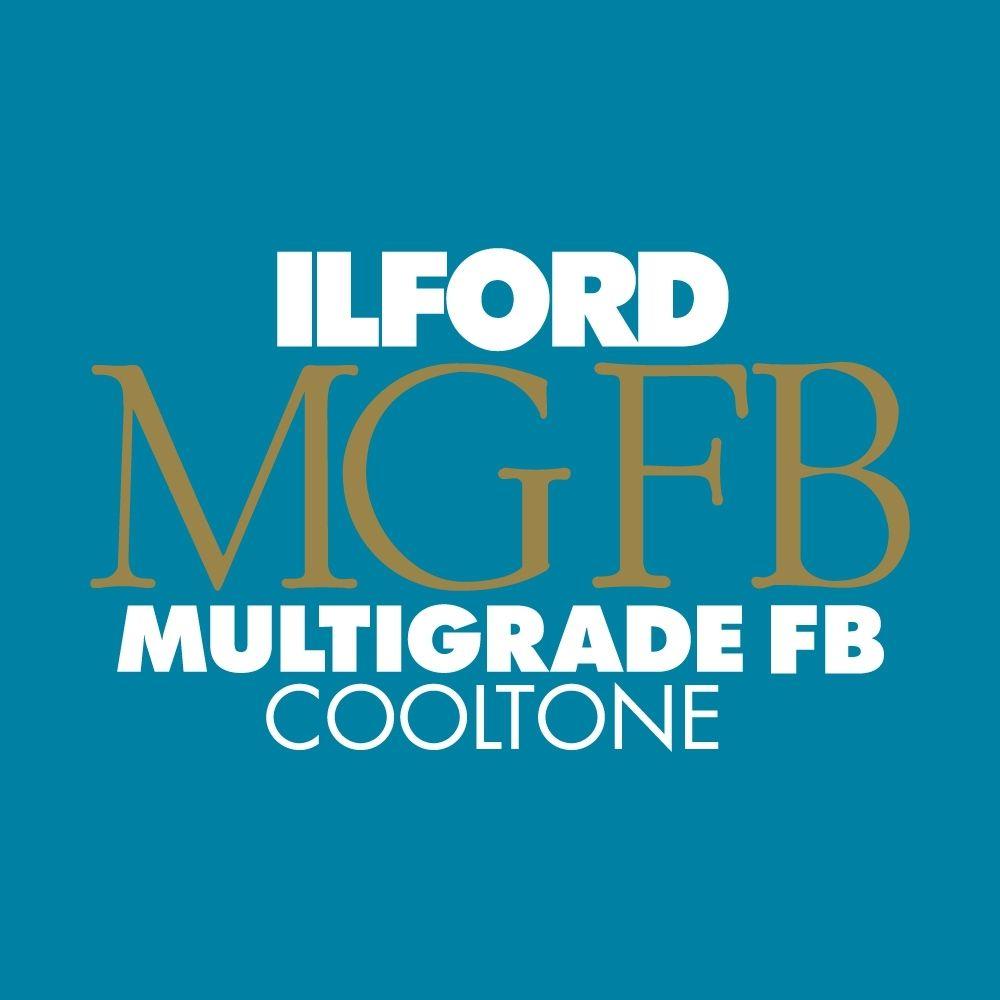 Ilford Photo 20,3x25,4 cm - GLANZEND - 100 VELLEN - Multigrade Fiber Cooltone HAR1175039