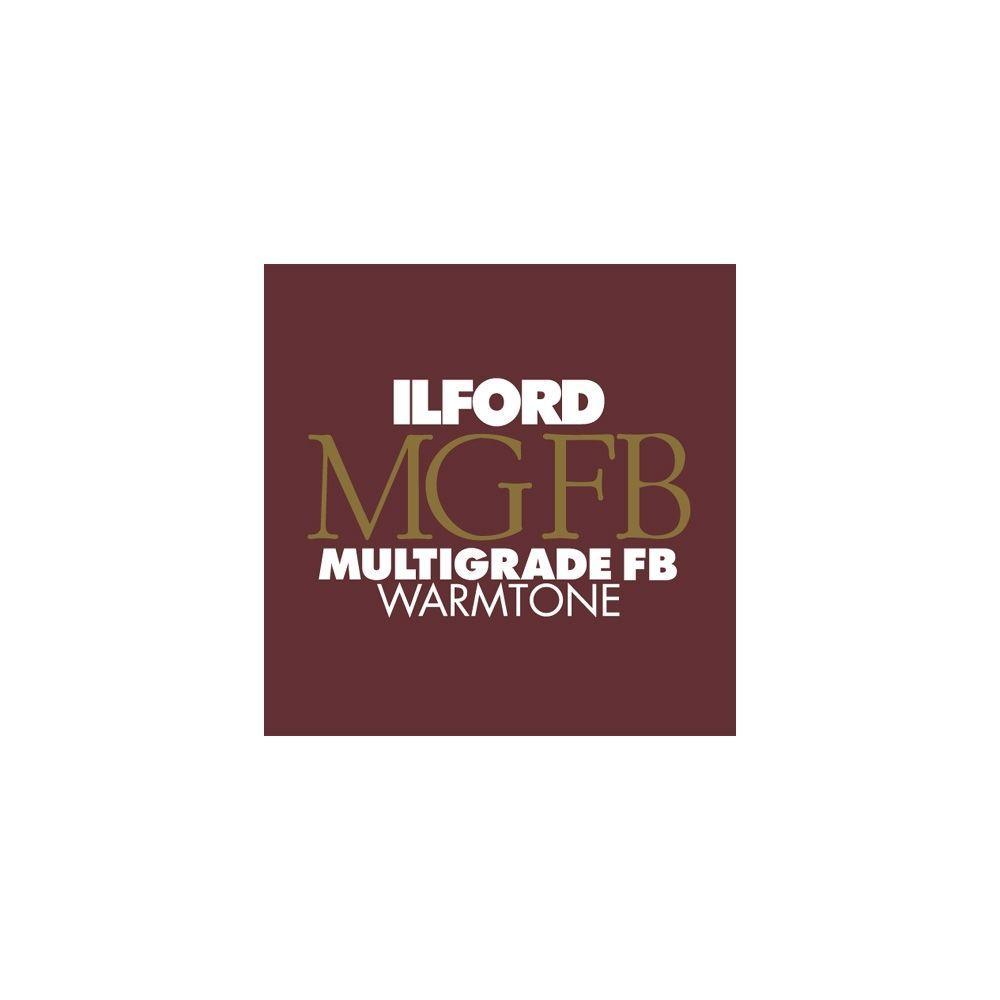 Ilford Photo 17,8x24 cm - BRILLANT - 100 FEUILLES - Multigrade Fiber Warmtone HAR1865370