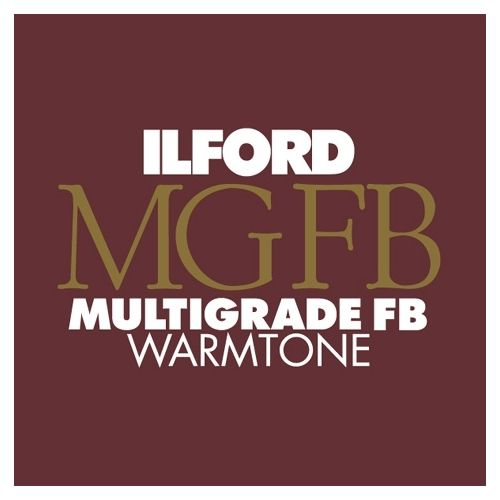 Ilford Photo 24x30,5 cm - BRILLANT - 50 FEUILLES - Multigrade Fiber Warmtone HAR1865462