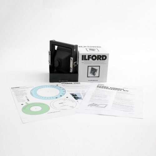 "Harman TiTan 4x5"" Pinhole Photography KIT"