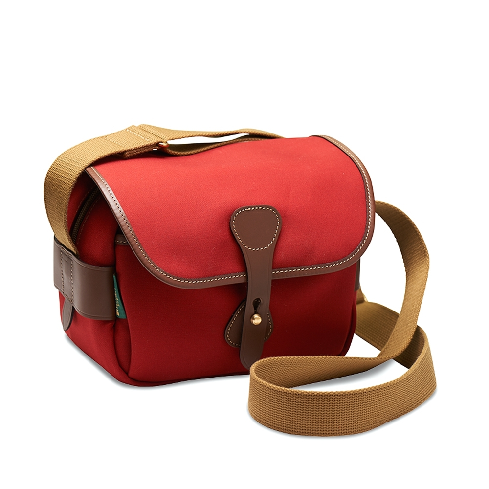 Billingham S2 - Burgundy Canvas / Chocolate Leather