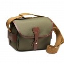 Billingham S2 - Sage FibreNyte / Chocolate Leather