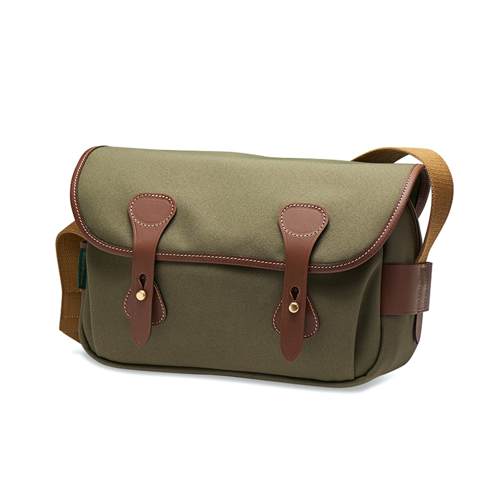 Billingham S3 - Sage FibreNyte / Chocolate Leather
