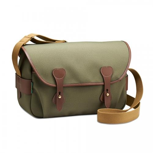 Billingham S4 - Sage FibreNyte / Chocolate Leather