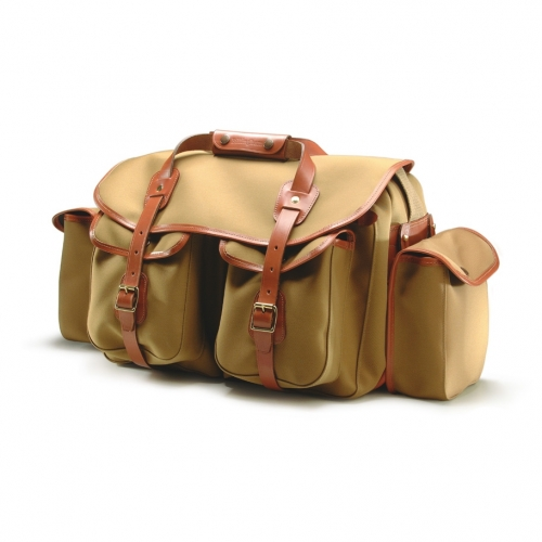 Billingham 550 - Khaki Canvas / Tan Leather