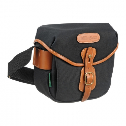 Billingham Hadley Digital - Black Canvas / Tan Leather