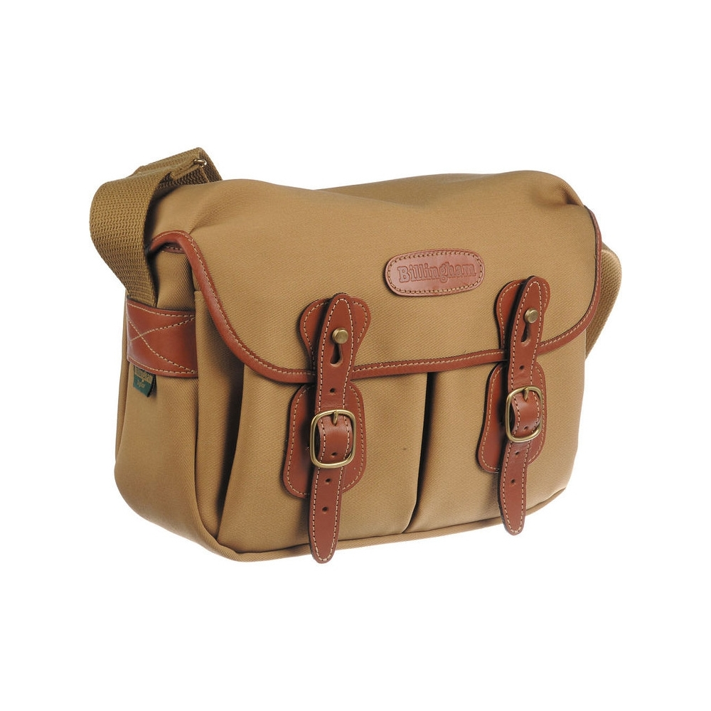 Billingham Hadley Small - Khaki Canvas / Tan Leather