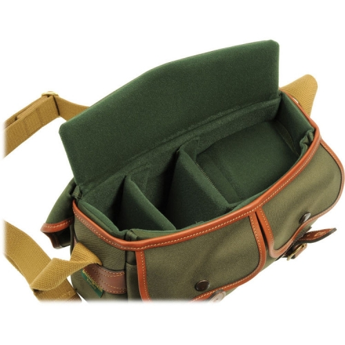 Billingham Hadley Small - Sage FibreNyte / Tan Leather