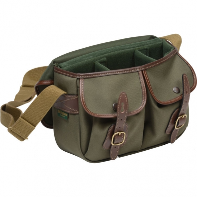 Billingham Hadley Small - Sage FibreNyte / Chocolate Leather