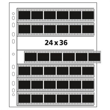 Kenro Negative Storage Pages 35mm Film 7x6 - Glassine - 25 pcs