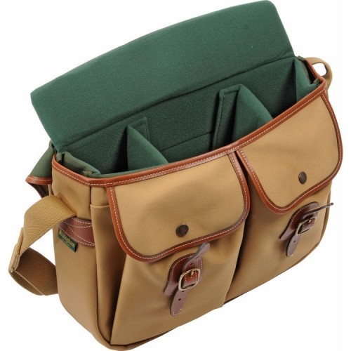 Billingham Hadley Large - Khaki Canvas / Tan Leather