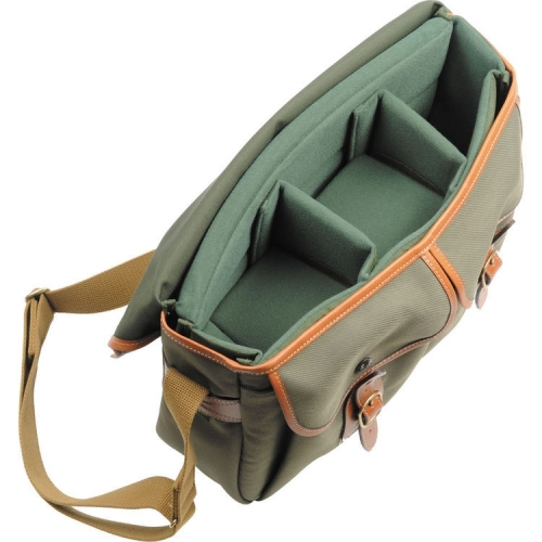 Billingham Hadley Large - Sage FibreNyte / Tan Leather