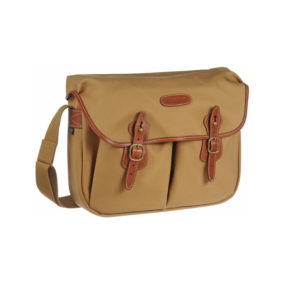 Billingham Hadley Large - Khaki Canvas / Tan Leather