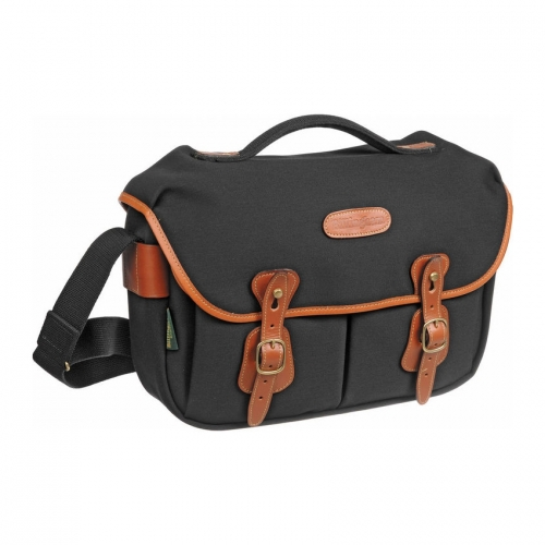 Billingham Hadley Pro - Black Canvas / Tan Leather