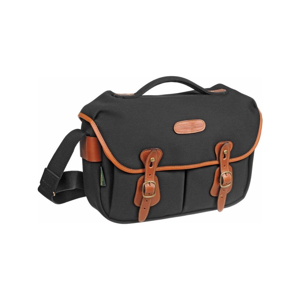 Billingham Hadley Pro - Black Canvas / Tan Leather