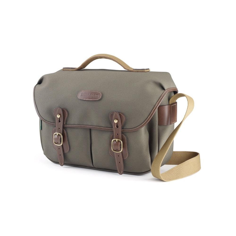 Billingham Hadley Pro - Sage FibreNyte / Chocolate Leather